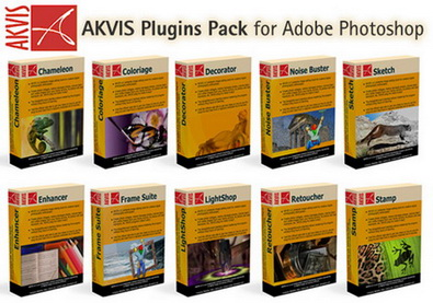 Akvis Plugins Pack for Adobe Photophop (2010) RUS