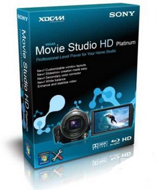 Sony Vegas Movie Studio HD Platinum 10.0 Build 179 Rus