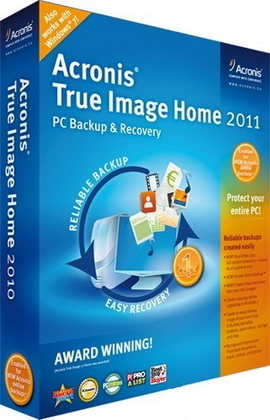 Acronis True Image Home 2011 14.0.0 Build 5519 Final + BootCD + Addons + PlusPack Rus