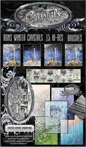 Кисти - Кристаллы Зимы Rons | Rons Winter Crystals