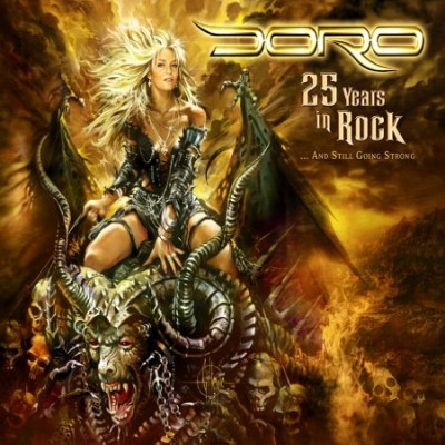 Doro - 25 Years In Rock And Still Going Strong (Bonus Live CD) (2010)