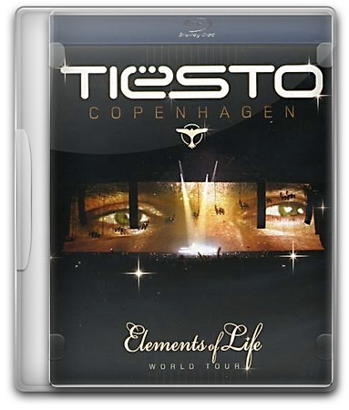 DJ Tiesto: Elements of Life Copenhagen (2008) BDRip