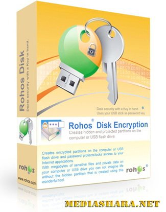 Rohos Disk Encryption 1.8 Unattended