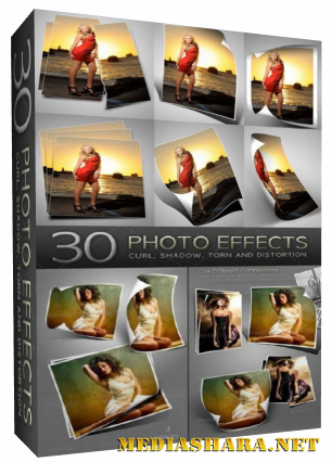 GraphicRiver - 30 Photo Effects для Adobe Photoshop (2011)