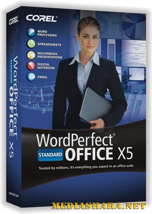 Corel WordPerfect Office X5 15.0.0.512 Standard Edition