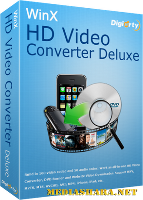 WinX HD Video Converter Deluxe 3.12.6 Built 20130315 Rus