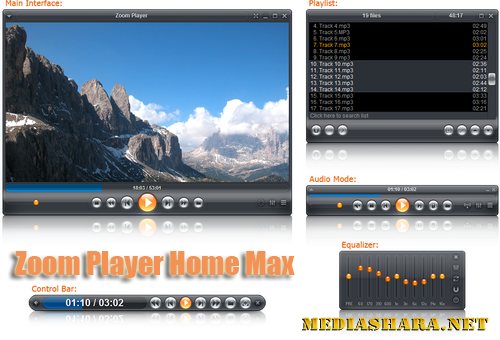Zoom Player Home Max 8.20