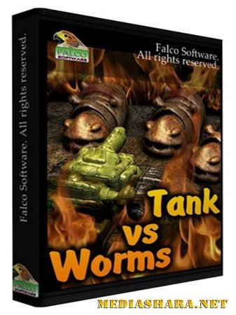 Tank VS Worms (2012/PC/Eng)