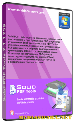 Solid Documents Solid PDF Tools 7.2 build 1479 Rus
