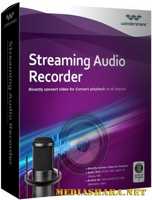 Wondershare Streaming Audio Recorder 2.0.3