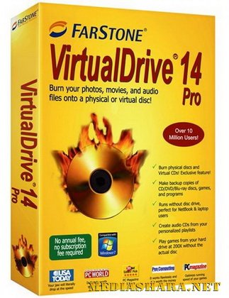 FarStone VirtualDrive Pro 14.1 build 20111222