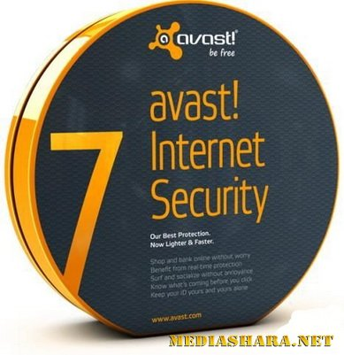 Avast! Internet Security 7.0.1426 Final + New Crack до 2050 года