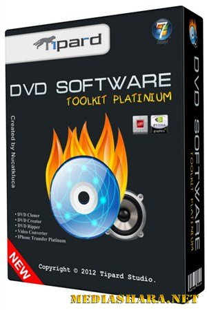 Tipard DVD Software Toolkit Platinum 6.1.50 RUS