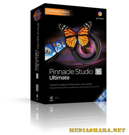 Pinnacle Studio 16 Ultimate 16.0.0.75 Rus