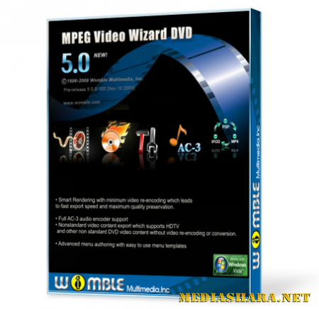 Womble MPEG Video Wizard DVD 5.0.1.105 Rus