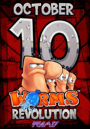 Worms Revolution + DLC's (2012/MULTi7/RUS/ENG/Steam-Rip)