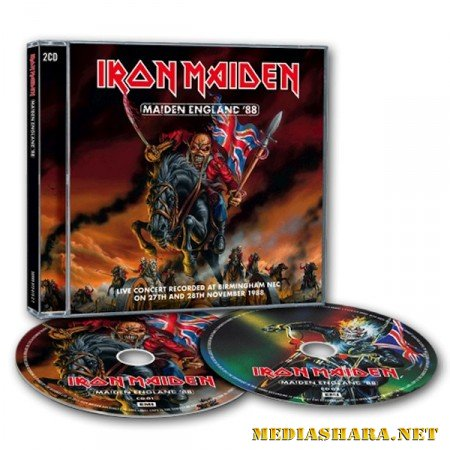 Iron Maiden - Maiden England '88 (2CD) (2013/WAVPack/Lossless)
