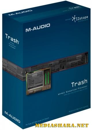 iZotope - Trash 2.03 VST. VST3. RTAS. AAX (x86/x64/ENG/Update: 12.08.2013)