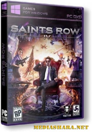 Saints Row IV: Commander-in-Chief Edition + Season Pass DLC (Update 1) (2013/ENG/Repack by xatab)