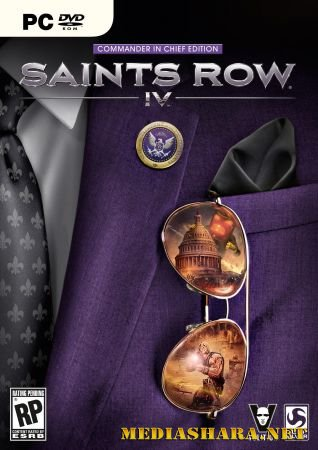 Saints Row 4: Commander-in-Chief Edition + Season Pass DLC (2013/RUS/ENG/RePack by Black Beard)