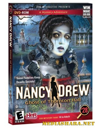 Nancy Drew: Ghost of Thornton Hall / Нэнси Дрю: Призрак поместья Торнтон (2013/RUS/ENG)