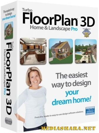 TurboFloorPlan 3D Home and Landscape Pro 17.0.6 (x86/ENG/RUS/2013)