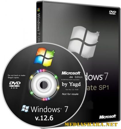 Windows 7 Ultimate StopSMS Optimized by Yagd AIO v.12.6 (x64/RUS/2013)