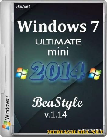 Windows 7 Ultimate mini 2014 BeaStyle 1.14 (x86/x64/RUS/2014)