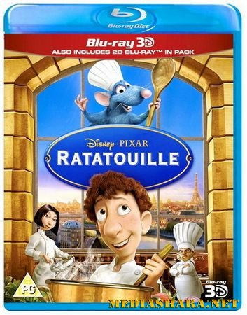 Рататуй / Ratatouille (2007) BDRip