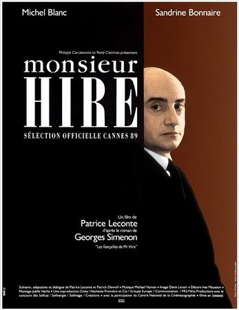 Мсье Ир / Monsieur Hire (1989) DVDRip