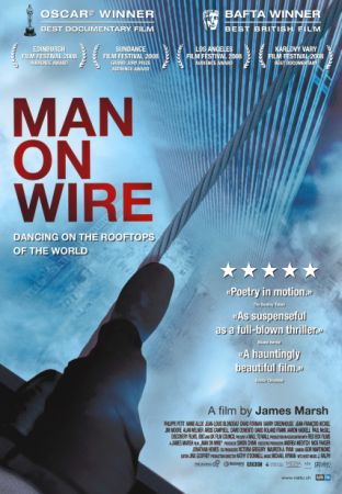 Канатоходец / Man on wire (2007) HDRip