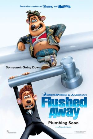 Смывайся / Flushed Away (2006) HDTVRip
