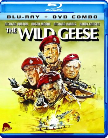 Дикие гуси / The Wild Geese (1978) HDRip