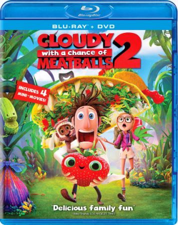 Облачно... 2: Месть ГМО / Cloudy with a Chance of Meatballs 2 (2013) BDRip