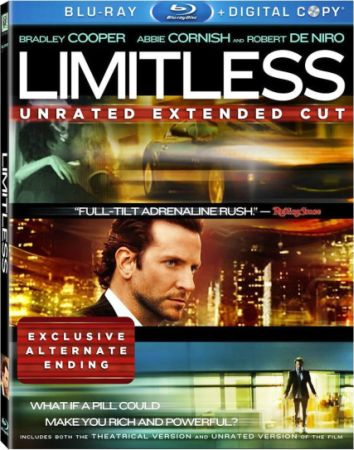 Области тьмы [Театральная + Расширенная версии] / Limitless [Theatrical + Unrated Cut's] (2011) BDRip