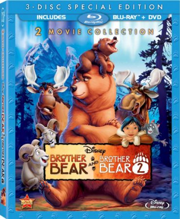 Братец медвежонок: Дилогия / Brother Bear: Dilogy (2003-2006) BDRip