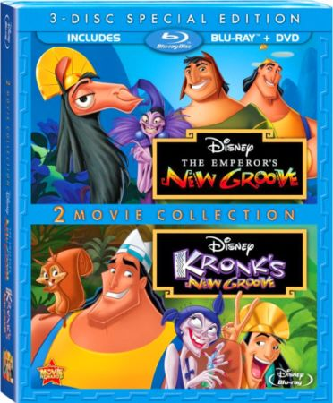 Похождения императора: Дилогия / The Emperor's New Groove: Dilogy (2000-2005) BDRip