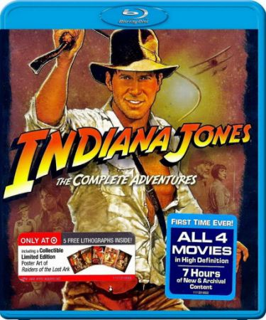 Индиана Джонс: Квадрология / Indiana Jones: Quadrilogy (1981-2008) BDRip | BDRip 720p