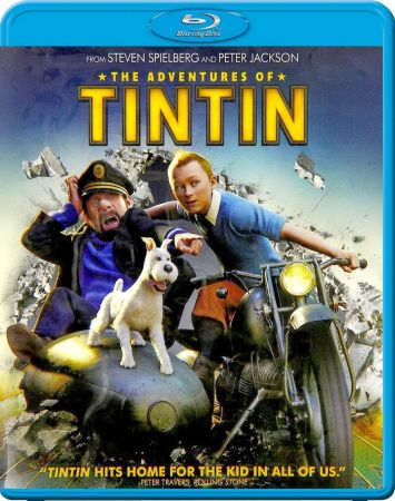 Приключения Тинтина: Тайна Единорога / The Adventures of Tintin (2011) BDRip | BDRip 720p | BDRip 1080p