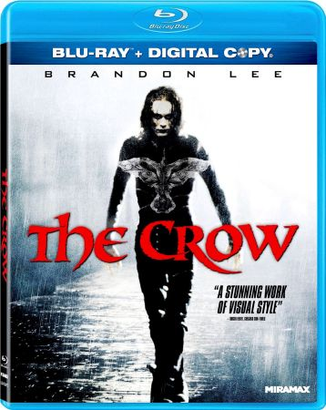 Ворон / The Crow (1994) BDRip | BDRip 720p | BDRip 1080p
