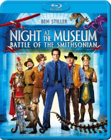 Ночь в музее 2 / Night at the Museum: Battle of the Smithsonian (2009) BDRip
