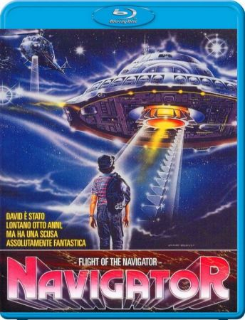 Полет навигатора / Flight of the Navigator (1986) BDRip | BDRip 720p | BDRip 1080p