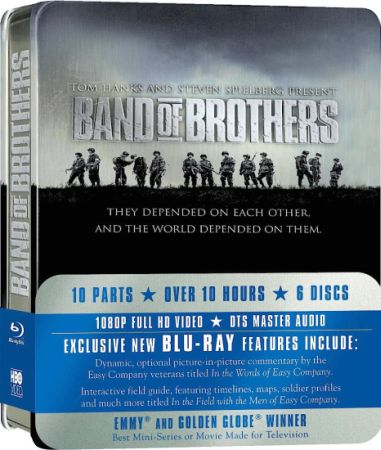 Братья по оружию / Band of Brothers (10 серий из 10) (2001) BDRip