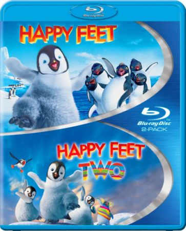 Делай ноги / Делай ноги 2 | Happy Feet / Happy Feet Two (2006-2011) BDRip | BDRip 720p | BDRip 1080p